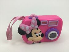 Minnie Mouse Bowtique Toy Camera Disney Just Play with Batteries Clubhouse Pink