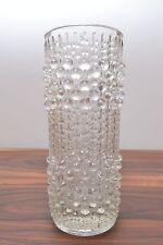 Amazing mid century art glass 'Candlewax' vase by Frantisek Peceny