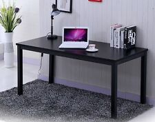 Office Home Computer Laptop Desk Writing School Study Black Furniture Desk6
