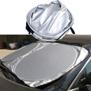 Auto Car Sun Shade Visor Front Rear Foldable Visor Block Cover Jumbo Windshield