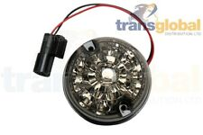 Land Rover Defender LED Side Light 73mm SMOKED Lens - Bearmach BA - 9727