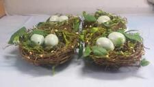 4 - Artificial Bird's Nest with Eggs - Pinterest - crafts - weddings - decor