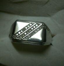 Mens Diamond Ring Size 10 32 diamonds .35tcw  MSRP$937.00