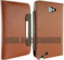 Per Samsung Galaxy Note 1 i9220 PELLE CASE COVER WALLET POUCH N7000 flip BACK