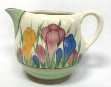 More details for antique clarice cliff art deco crocus milk jug royal staffordshire newport