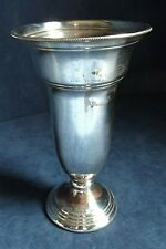 "GOOD 7"" ~ SILVER Plated ~ VASE ~ c1900"