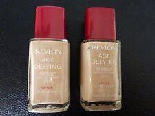 Revlon Age Defying Liquid Makeup / Foundation - IVORY BEIGE #01 -DRY- 2 Bottles