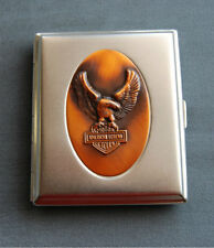 Hansaware King Size Cigarette Case with Eagle Made in Germany 1477/N AL