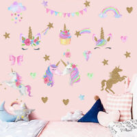Unicorn Wall Decals Self Adhesive Wall Sticker Kids Room Vinyl Decal Art Decor