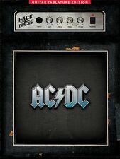 AC/DC BACKTRACKS GUITAR TAB TABLATURE SHEET MUSIC SONG BOOK