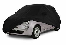 New Fiat 500 '07-'15 Fitted Indoor Car Cover *Black*