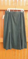 NWT JM Collection Core Essentials Size 14 Spruce Green Skirt  New Macy's Tags