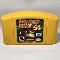Donkey Kong 64 Nintendo 64 N64 Saves Donkey Kong Country Series AUTHENTIC TESTED