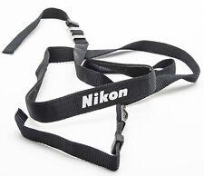 Nikon Kameragurt Tragegurt Trageriemen carrying strap schmal Schwarz universal