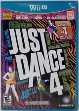 Just Dance 4 Nintendo Wii U Video Game with instructions Used 2012
