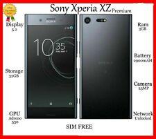 Sony Xperia XZ Premium Deepsea BLACK 64GB G8141 *UNLOCKED* 4GB HD Smartphone