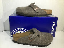 Birkenstock Womens Size 5 EU 36 Boston Cocoa Wool Clogs Shoes ZB5-2200