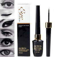12ml BLACK Eyeliner Pen Waterproof Liquid Pencil Eye Liner Make Up Cosmetic Set