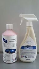 Syntec car polish twin pack featuring cp10 and waterless clean and shine