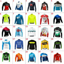 2020 New Mens Team Cycling Long Sleeve Jersey Cycling Jerseys Bicycle Jersey