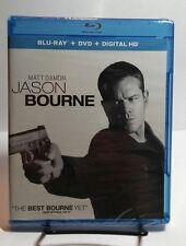 Jason Bourne 2016(Blu-ray/DVD,Includes Digital Copy)Matt Damon-NEW-Free S&H