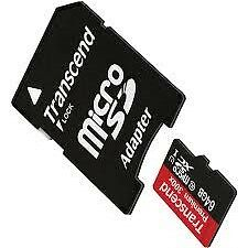 Samsung Galaxy Note 3 Cell Phone 64GB microSDHC Memory Card + Adapter