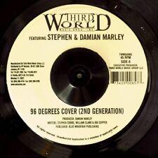 "NEW 7"" Stephen Marley, Damian Marley - 96 Degrees Cover  /  Capleton - Good Hear"