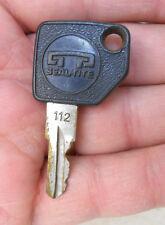Original Seal-Tite Locking Gas Fuel Cap Key # 112
