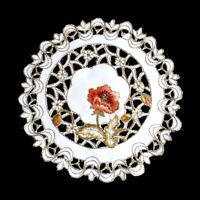 4pcs Cutwork Embroidered Lace Placemat Table Runner Scarf Wedding Party Dining