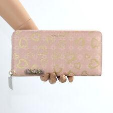NWT Coach Poppy Waverly Hearts Accordion Zip Around Wallet 50920 Pink New Rare