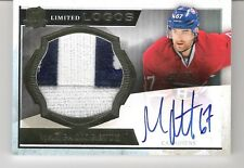 Max Pacioretty 2013-14 The Cup Limited Logos Autograph Logo Patch 20/50 Auto