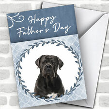Cane Corso Dog Traditional Animal Personalized Father's Day Card