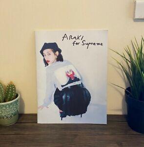 FW16 Supreme Araki Photo Book Zine