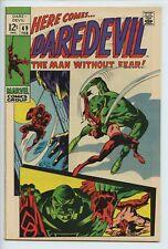 1969 MARVEL DAREDEVIL #49 1ST APPEARANCE OF STARR SAXON  NM-   S2