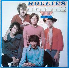 HOLLIES - SUPER HITS - VOLUME TWO - SOUND VALUE - NEW ZEALAND - 1984 LP