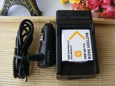 NP-BN1 Battery + Charger for Sony Cyber-shot DSC-W610 DSCW610 DSC-W620 DSCW620
