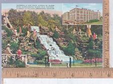 1947 UNUSED POST CARD OLSON RUG CO., CHICAGO. IL FACTORY and GARDENS