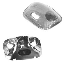 (2) FORD OEM 1993-2004 Ford Ranger Super Cab Interior Dome Lamp Housing w/Lens