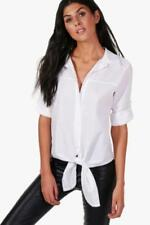 Camisa de mujer de color principal blanco talla L