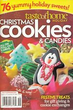 CHRISTMAS COOKIES & CANDIES 76 RECIPE CARDS TASTE OF HOME HOLIDAY COOKBOOK 2009