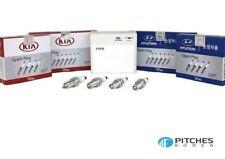 Genuine Hyundai Kia AZERA SONATA OPTIMA CADENZA spark plugs (x4) - 18847-11160