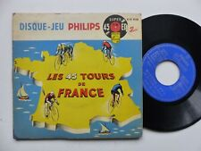 TOUR DE FRANCE DISQUE-JEU PHILIPS LES 45 TOURS DE FRANCE vélo cyclisme