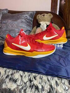 RARE!!! Nike Kobe 5 China - Size 10 ( 386429-600 ) *Pre-owned beat