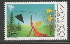 Monaco #1576 (A487) VF MNH - 1987 3.70fr Red Curley Tail, Mobile Sculptor