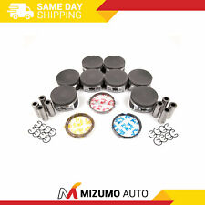 Pistons + Rings Fit 04-14 Ford F150 F250 Expedition Mustang Lincoln 5.4L 3-Valve
