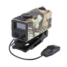 700M Range Finder Tactical Rifle Hunting Scope Distance Speed Fog + Horizontal
