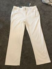 Per Una Roma Rise White Straight Jeans Size 18 Long Bnwt Free Sameday Postage