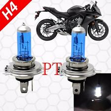 H4/9003-HB2 60/55W Xenon Halogen Headlight Light Lamp Bulbs Super White Bike