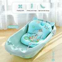Baby Shower Cushion Bed Non-Slip Bath Tub Net Mat Floating Pad Safety Seat