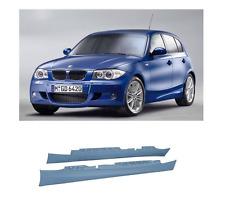 2 BAS DE CAISSE EN ABS PACK M POUR BMW SERIE 1 E87 5 PORTES DE 2004 A 2011